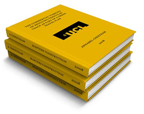 Thesis & Dissertation Printing - Book1One